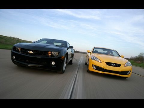 Camaro V-6 vs Genesis 3.8 Track - Part 2