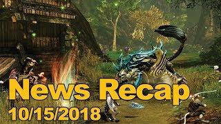 MMOs.com Weekly News Recap #169 October 15, 2018