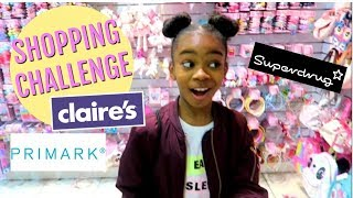 My First Time Makeup Shopping 20 Makeup Challenge Claires Superdrug Primark
