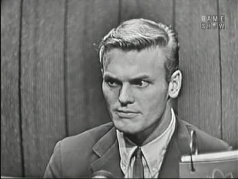 What's My Line? - Tab Hunter; Martin Gabel [panel]; Richard Kollmar [panel] (Feb 3, 1957)