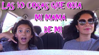 Las 10 CoSaS que a mi MaMá no le GustaN de MI (en Sábado) | TV ANA EMILIA