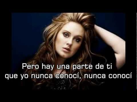 Adele - Set Fire To The Rain (subs. Español) Hd video