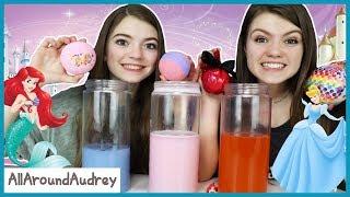 Surprise Princess Bath Bomb Challenge / AllAroundAudrey