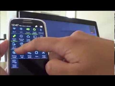 Sharing Samsung Galaxy S4 Internet Hotspot to