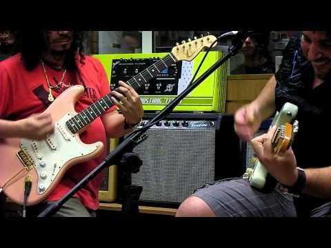 Organigrama Guitars Evento Fender con Raimundo Amador Parte 1