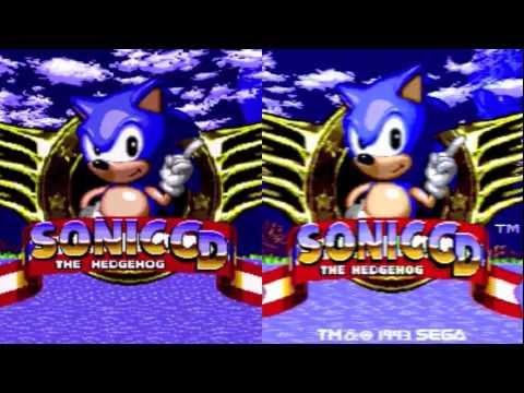 Sonic CD / Sonic CD HD Comparison