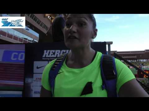 Valerie Adams thrilled to be back over 20m in the shot put