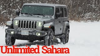 2019 Jeep Wrangler Unlimited Sahara Test Drive Review