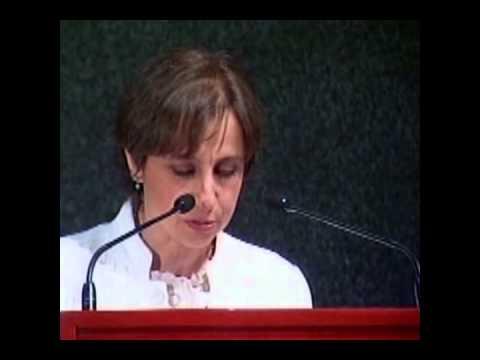 10 DE MADRES 2010. Conferencia Magistral Carmen Aristegui. Parte 1.