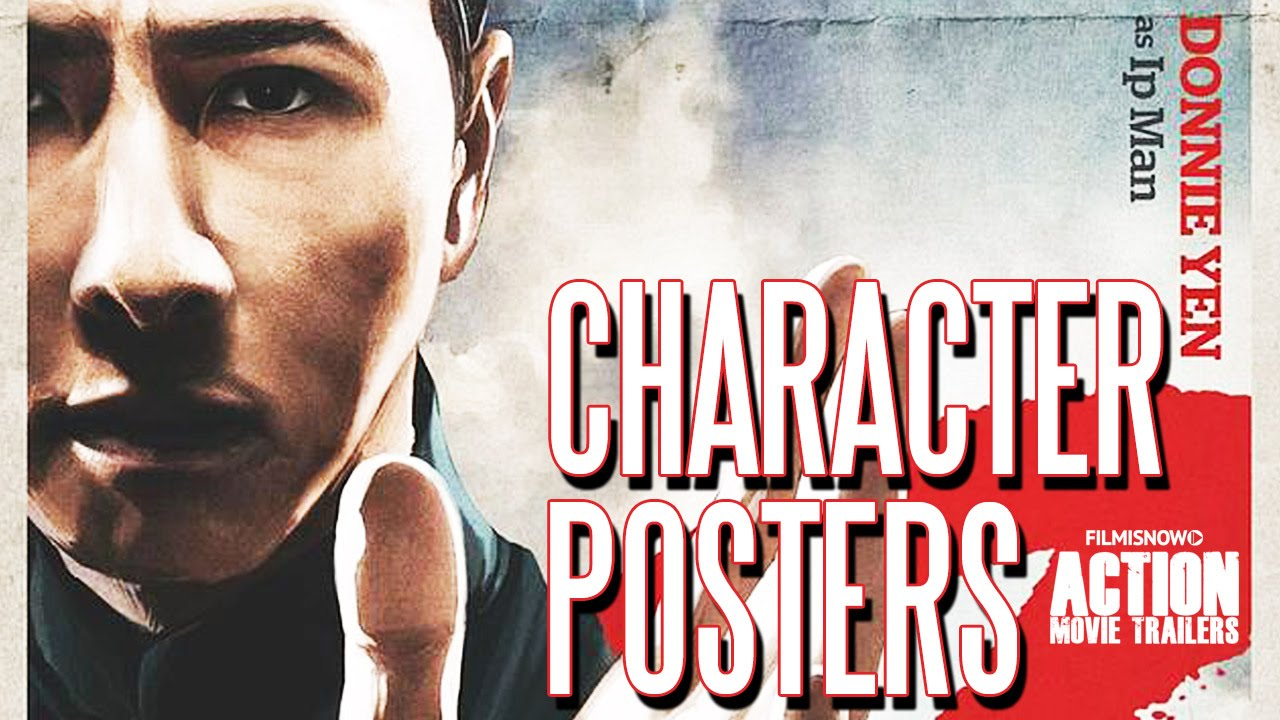 IP MAN 3 ft. Donnie Yen, Mike Tyson - Character Posters [HD]