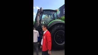 10.10.2018 bursa tarım fuarı traktörler