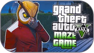GTA 5 Next Gen Funny Moments: Mini Maze Game, Smoking Glitch & Dat Ass!