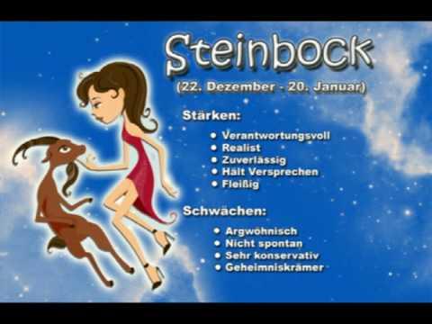 Sternzeichen Steinbock - Ihr Charakter wird hier