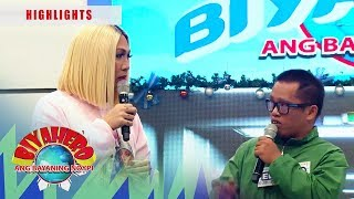 Vice is glad speaking with the OFW | It's Showtime BiyaHERO