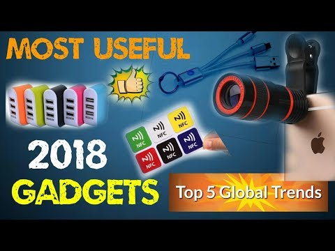 Top 5 Most Popular Electronic Gadgets 2018 Best Technology