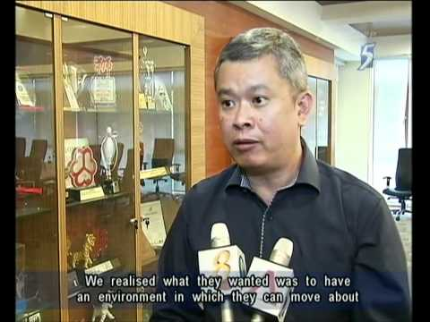 Singapore Channel 5 News 9.30PM @ 04-04-2012
