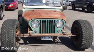 1960 Willys Jeep Rod Spotted