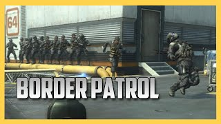 Border Patrol - First In, First Out.  (Call of Duty Black Ops 2)