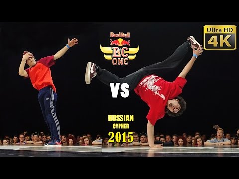 Red Bull BC One Russian Cypher 2015, Moscow - 1/4 battle 2 - 4K LX100