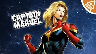 We Got a First Look at Captain Marvel's Costume! (Nerdist News w/ Jessica Chobot)