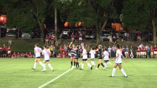 Dayton Women's Soccer Goals vs. UC Santa Barbra