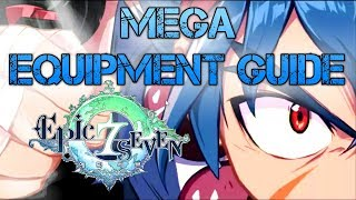 Epic Seven - MEGA Equipment Guide [HAPPY NEW YEAR~]
