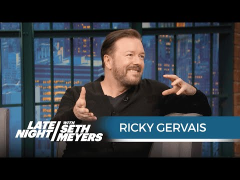 Ricky Gervais on Revisiting His Office Character David Brent
