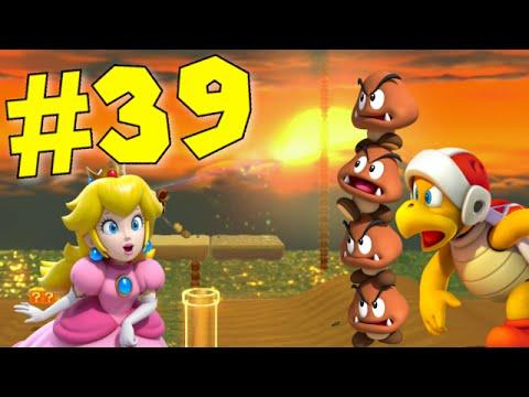 Super Mario 3D World - Episode 39: Peach Storms the Beach