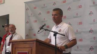 Urban Meyer After Ohio State's 77-10 Win Over Bowling Green - ELEVENWARRIORS.COM
