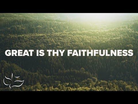 Great Is Thy Faithfulness | Maranatha! Music (Lyric Video)