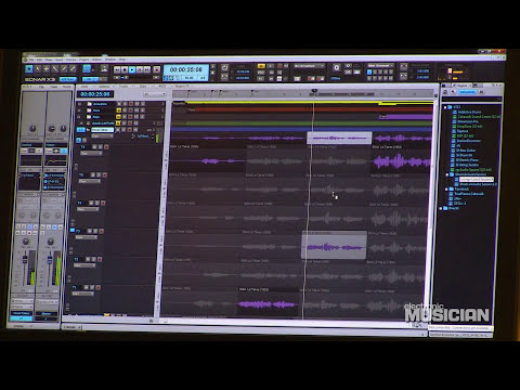 Cakewalk SONAR X3: New Features Walkthrough