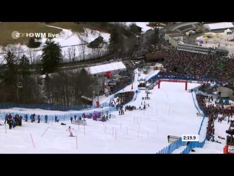 Anna Fenninger - WM Garmisch 2012 Super-Combination Slalom
