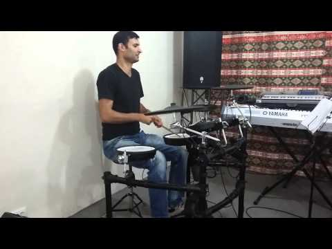 Rez Power - Israel & New Breed (Drum cover) Roman Harutunyan