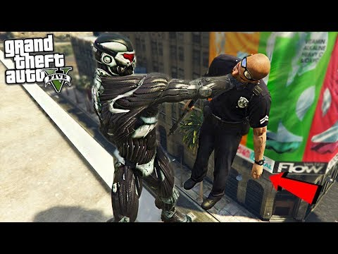 SUPER SOLIDER CRYSIS SUIT  - GTA 5 Mods