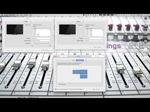 Apple Mac OS X Multiple Monitor Trick