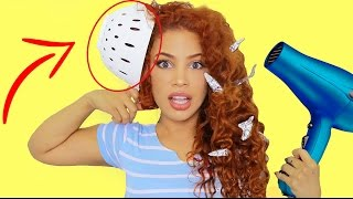 10 HAIR LIFE HACKS & DIY TIPS!