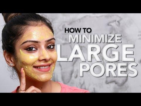 How To Minimize Large Pores | DIY | Face Mask | Skincare Tutorial | Makeup Tutorial | Foxy Makeup