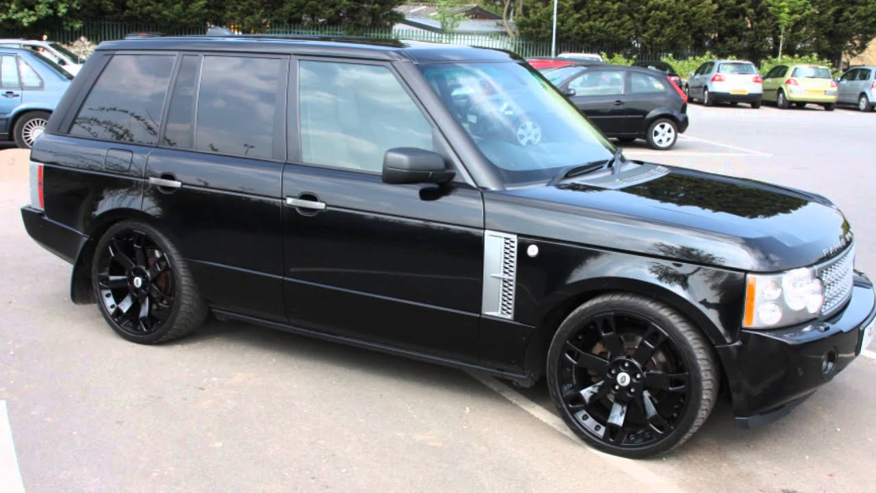 lowered range rover l322 youtube. Black Bedroom Furniture Sets. Home Design Ideas
