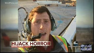 Distraught Man Performs Stunts With Stolen Passenger Plane