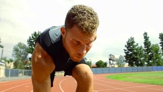 Blake Griffin Trains with Track & Field Champ Carmelita Jeter | The Crossover: Part 2