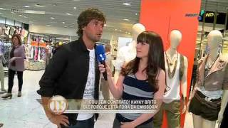 TV Fama: Kayky Brito fala sobre contrato com a Rede Globo.