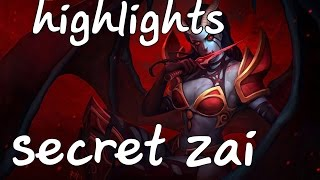 Highlights Secret zai Queen Of Pain Duo Rank With S4
