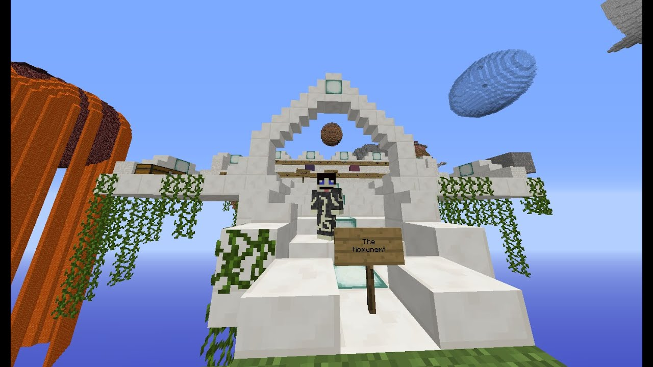 Minecraft Ctm Map Heavens Spheres So They Can Spawn
