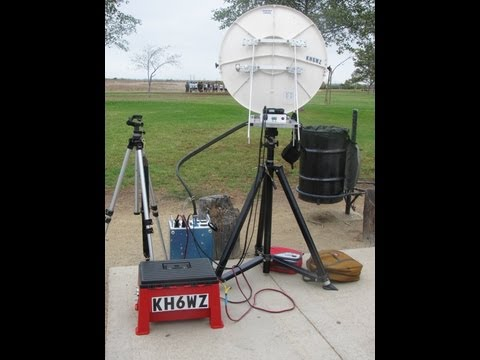 Field Testing 10 GHz, 24 GHz and 47 GHz Amateur (Ham) Radio Systems