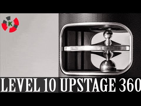 New invention: UPstage 360 - The smart speaker with 360° Hi-Res sound