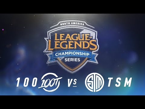 100 vs. TSM - Week 3 Day 2 | NA LCS Spring Split | 100 Thieves vs. TSM(2018)