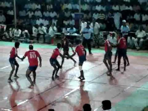 Kabaddi Match - Ariyalur Vs Coimbatore Police Team - Part1 video