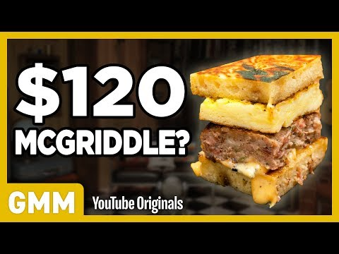 $120 McGriddle Taste Test | FANCY FAST FOOD