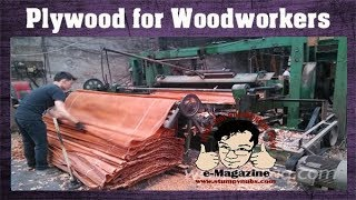 What woodworkers need to know about plywood