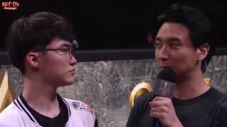 [Vietsub] MSI 2017: Phỏng vấn Faker sau trận SKT vs TSM Lượt đi Vòng bảng